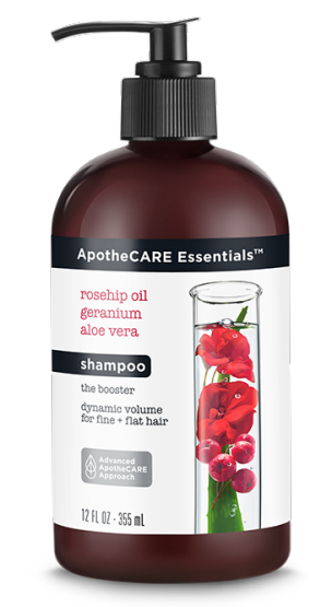 ApotheCARE Essentials™  - The Booster Volumizing Shampoo for Fine Hair